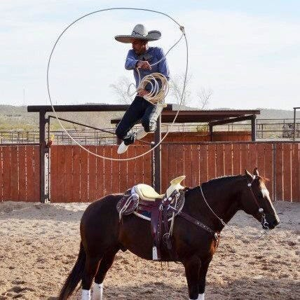 4)Daniel Castro of Vado and his family will do rope tricks and charrerada demonstrations.