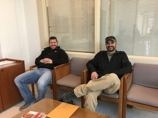 Jarrod Slindee and Mark Pfetzer of the San Juan County Sheriff's Office are preparing for a 3,000-mile race across the Atlantic Ocean in 2022 to bring a cause they care about to light, the stresses faced by first responders and the number of them that lose their lives to suicide.