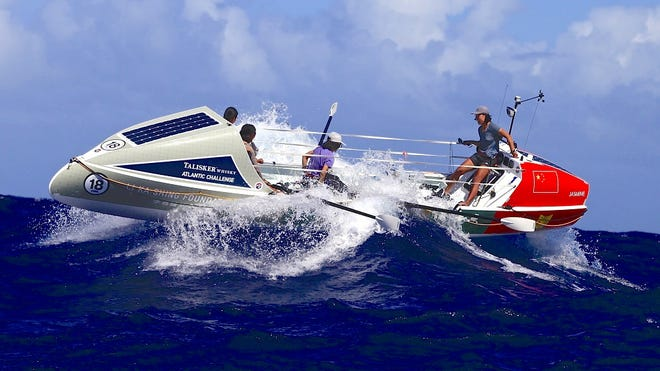 Special boats are used in the Talisker Whisky Atlantic Challenge, and raising the money to buy one is a big challenge for Jarrod Slindee and Mark Pfetzer, who plan to row across the ocean to bring attention to the emotional challenges faced by first responders and the numbers of them lost to suicide.
