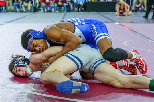 Josh Edmond will try for his third-straight individual state title this weekend at Ford Field.