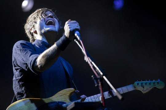 Death Cab for Cutie performs during Innings Festival on March 1, 2020, at Tempe Beach Park in Tempe.