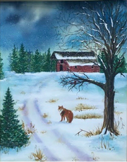 An exhibit by local artist Michele Trout will open Sunday at the Mason-Dixon Library in Stewartstown.