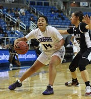 The Spanish Springs boys and girls basketball teams won the Northern 4A Regional tournament last month.