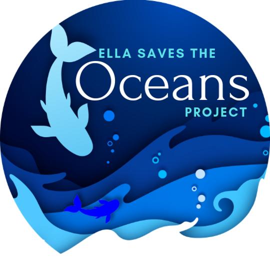 Ella Saves The Oceans Logo.