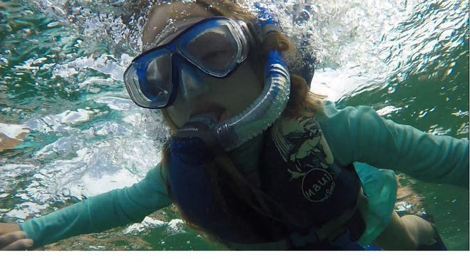 Ella Elkins, 10, is doing her part to save the oceans by recycling in West Texas.