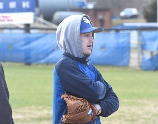 Evan Sutton, a Fort Defiance junior, was the team's starting centerfielder for most of last season despite being cut as an eighth-grader.