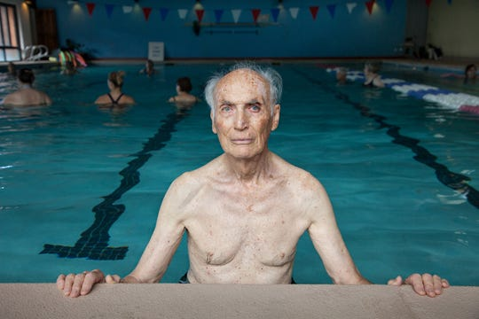 Beate Sass photos document her 90 year-old father's life are part of exhibit at Tall Timbers.