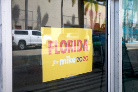 Presidential candidate Mike Bloomberg's campaign opened its first field office on the Treasure Coast on Monday, March 2, 2020 in Fort Pierce. The field office could be kept open if he is unable to secure the Democratic nomination, and left in the hands of the eventual nominee.