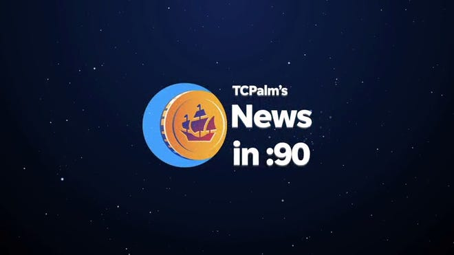 TCPalm's Rob Landers brings you some of today's top stories on the News in 90 Seconds.