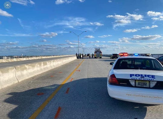 Stuart police are investigating a crash involving a motorcycle and a truck that happened March 1, 2020. The motorcyclist  was  flown to Lawnwood Regional Medical Center & Heart Institute.