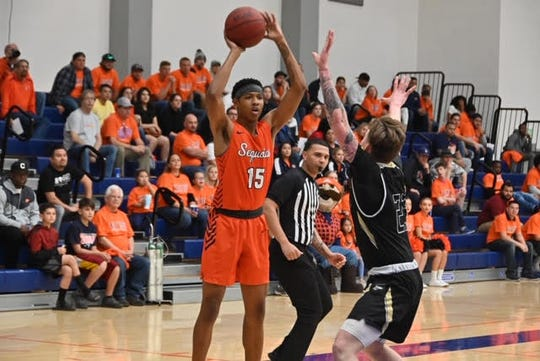 COS's Amil Fields (Hayward) led the way with 13 rebounds, including eight on the offensive glass.