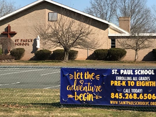 St. Paul's School in Valley Cottage, on March 2, 2020. The school will merge next academic year with St. Anthony in Nanuet.
