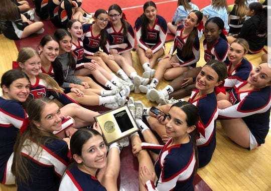 Eastchester won the Section 1 Small School/Small Team title on Saturday, Feb. 29, 2020 at Arlington High School.