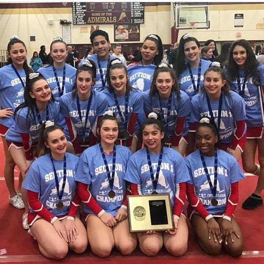 North Rockland won the Section 1 Co-ed Team title on Saturday, Feb. 29, 2020 at Arlington High School.