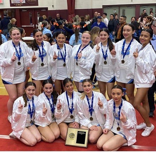 Ursuline won the Section 1 Large School/Small Team title on Saturday, Feb. 29, 2020 at Arlington High School.