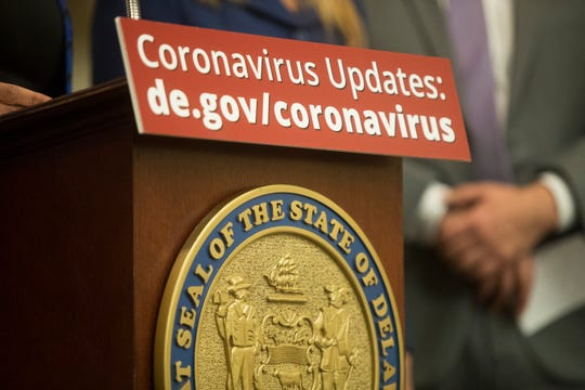 The Division of Public Health announced that two patients in Kent County are currently under investigation for coronavirus disease during at press conference at Christiana Care Monday, March. 2, 2019.