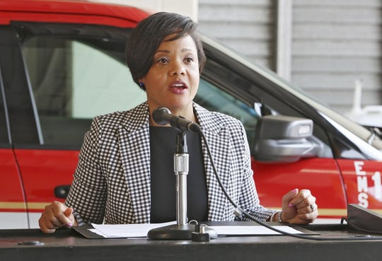 Dr. Mysheika Williams Roberts, public health commissioner in Columbus, Ohio, says the federal government has fallen short in national preparedness.