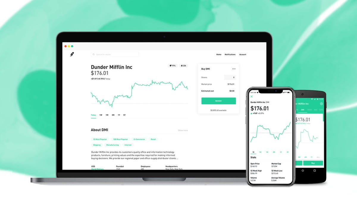 Smartphone Trading App Robinhood Hit With Systemwide Outage