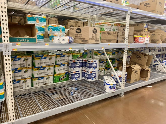 Stores across the country are selling out of toilet paper or have limited supplies because of fears of the coronavirus.