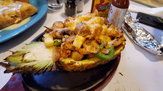 Victor JV shared this photo of a meal from one of the area's newest restaurants, Tequila Accent Mexican Kitchen and Bar in West Melbourne.