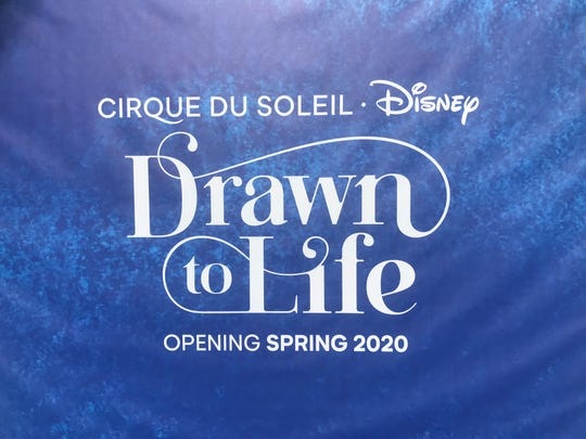 Cirque du Soleil's new show, Drawn to Life, is slated to open at Disney Springs on April 17, 2020.