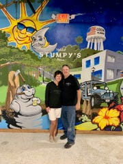 Angie and Mike Ewals are opening Stumpy's Hatchet House, an axe-throwing venue, in Cocoa Village.
