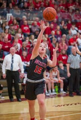Buckeye Central's Taylor Ratliff earned her first All-Ohio honors this year.