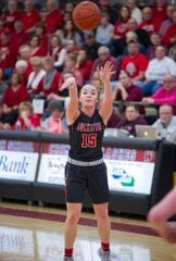 Taylor Ratliff shot 41.9% from deep and nailed 57 3-pointers this year, one shy of the school record.