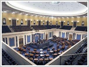 The U.S. Senate Chamber