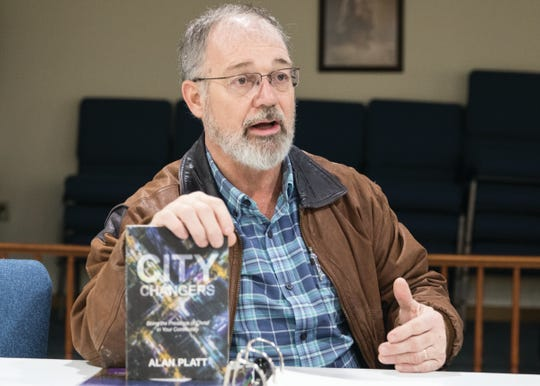Pastor John Hocker talks about the book City Changers by Alan Platt about outreach and ministering to a community. Hocker is opening a church to help those in recovery.