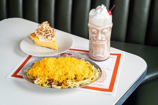 Chili, lemon meringue pie and a thick shake, all on the menu at OTR Chili.