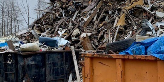 A Milford man has been indicted for illegally operating dump facilities.