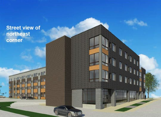 Nelson Development plans a 135-unit apartment and retail building across from Drake University.