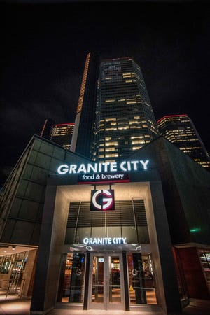 Located at the base of the Renaissance Center Granite City Food and Brewery  opened its doors on February 10th. The massive 16,000 square-foot-corner location featured a 450-seat restaurant, VIP lounges, and an additional outdoor 120-seat patio facing Jefferson Avenue.