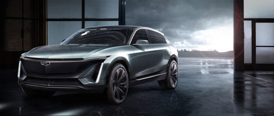 An artist conception of the upcoming Cadillac crossover, so far unnamed.