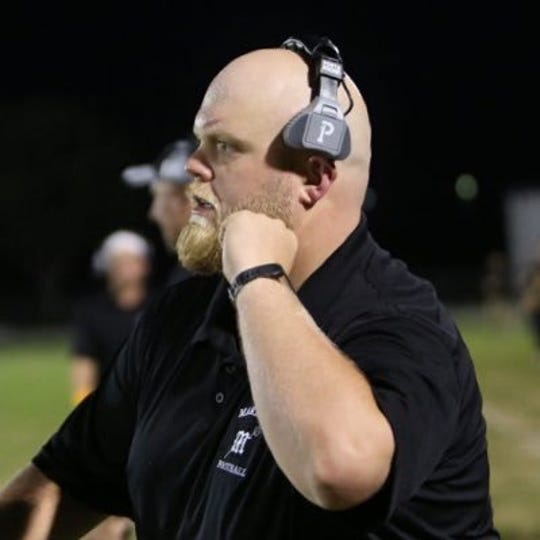 Mariner High School defensive coordinator Josh Nicholson was promoted to the Tritons' head coaching position on Jan. 24.