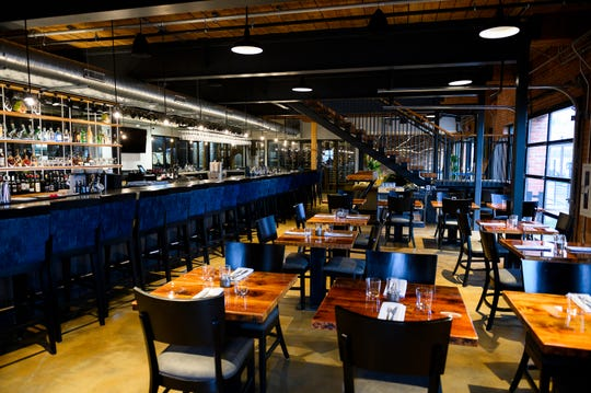 A look at the dining area at Urban Wren Tuesday, March 3, 2020.