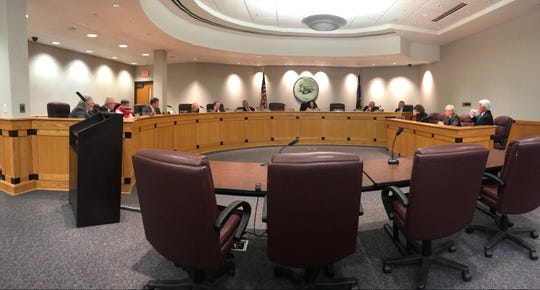 """In an 8-3 committee vote Tuesday, March 3, 2020, the Greenville County Council took the first step to remove a resolution that in 1996 declared the county was opposed to the """"homosexual lifestyle."""" Later that night, members reversed course, and the resolution remains on the books."""