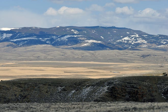 The western face of the Castle Mountains, where Helena-Lewis and Clark National Forest has been awarded $250,000 in funding for a major restoration project east of White Sulphur Springs.