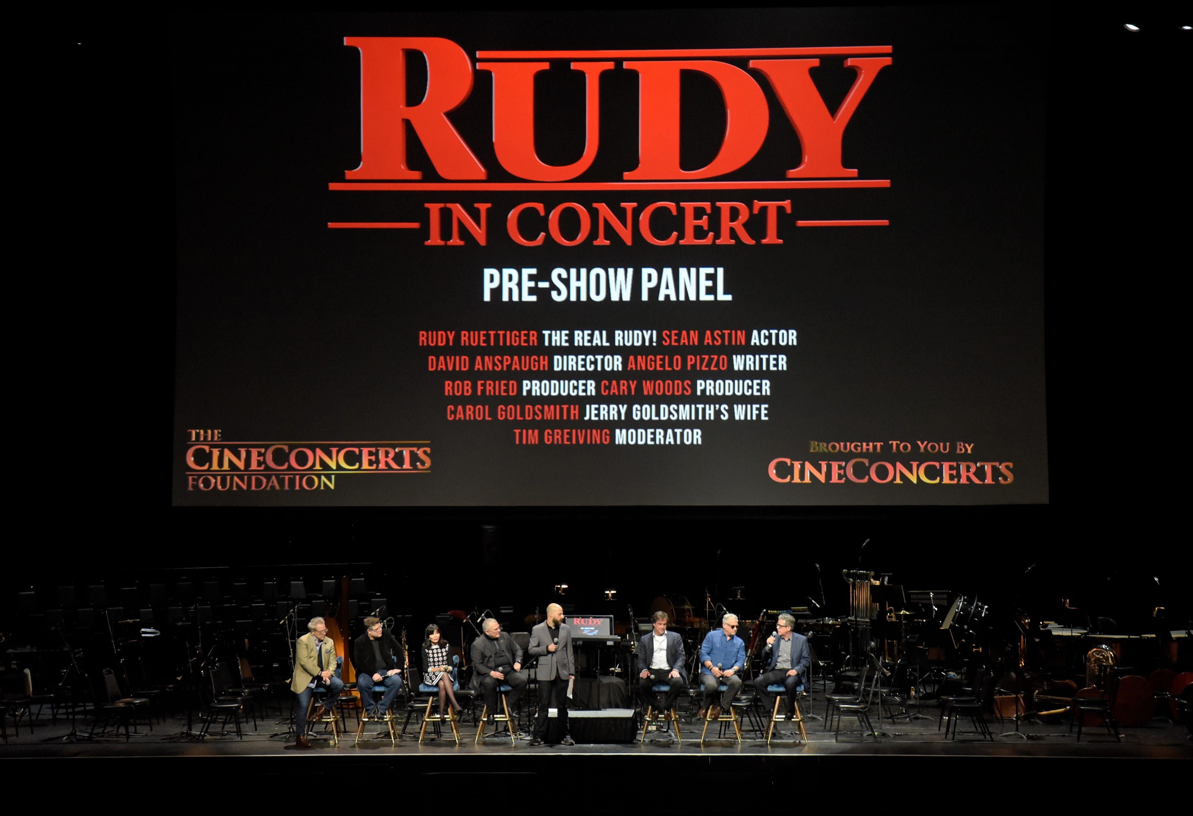 Symphony will play the  Rudy  soundtrack to the movie: Highlights of the 2020-21 season