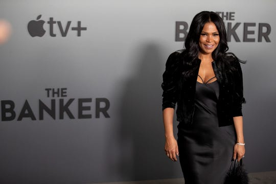 "Nia Long on Monday, March 2, 2020, before the premiere of ""The Banker"" at the National Civil Rights Museum in Memphis. Black plays Eunice Garrett."