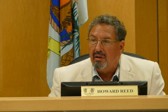 Marco Island City Councilor Howard Reed speaks during a council meeting on March 2, 2020.