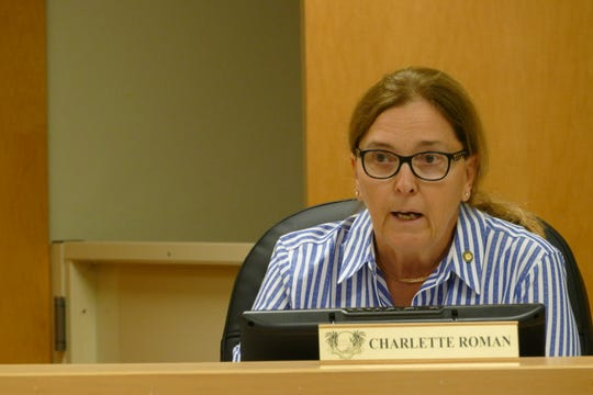 Marco Island City Councilor Charlette Roman speaks during a council meeting on March 2, 2020.