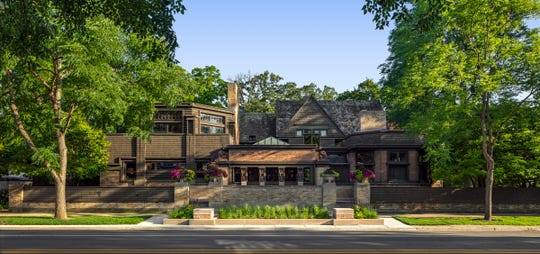 The Frank Lloyd Wright Studio in Oak Park, Illinois, is open for tours year-round.