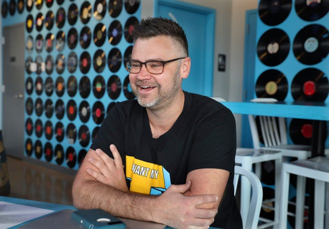 Mike Pallen grew up in Mukwonago and set out to work in the music business. Plans change. Pallen owns Mikerphone Brewing in Elk Grove Village, Ill., a brewery known for the creative names and flavors of its beer and for its collaborations with other breweries like Eagle Park.