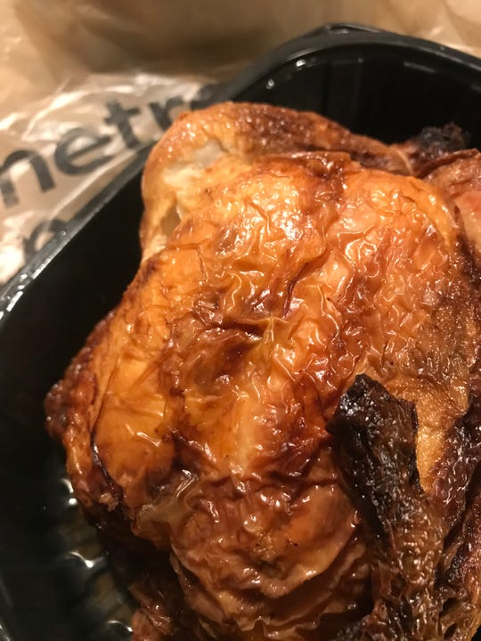 Metro Market guarantees to have rotisserie chickens from 11 a.m. to 7 p.m.