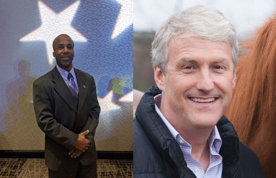 Kevin Ellis, left, and Robert Magnus are running for mayor in the city of Oconomowoc.