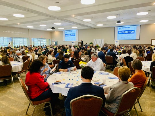 United Way of Northeast Louisiana recognized outstanding volunteers and corporate partners on Tuesday at its Celebrating Excellence event.