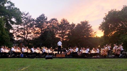 The Nashville Symphony plays its 2019 community concert at Rock Castle.