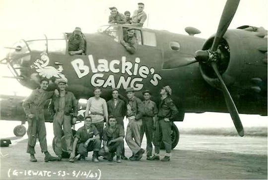 """Capt. John """"Blackie"""" Porter, from Marysville, formed Blackie''s Gang, the first organized air search and rescue crew of WWII. It's believed the plane in the photo is the one Porter famously flew missions in the dangerous Himalaya Mountains range known as """"The Hump,"""" and his plane was shot down on Dec. 10, 1943. The remains of Porter and four of his crew have never been recovered. Questions now surround the mission of a self-described adventurer and mountaineer from Arizona who has recovered other MIA remains. HIs India trip to recover was privately funded mostly by contributions raised in Marysville who had been paid to dig at the crash site and recover the remains."""